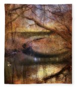 Autumn's End Fleece Blanket