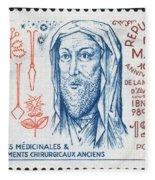 Avicenna (ibn-sina) Fleece Blanket