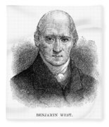 Benjamin West (1738-1820) Fleece Blanket