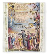 Blake: Songs Of Innocence Fleece Blanket