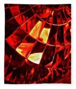 Brake Light 12 Fleece Blanket