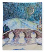 Bridge To Eternity Fleece Blanket