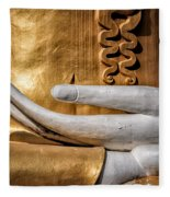 Buddha Hand Fleece Blanket