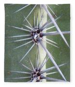 Cactus Thorns Fleece Blanket