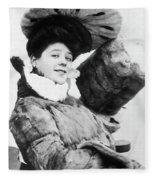 Camille Clifford (1885-1971) Fleece Blanket