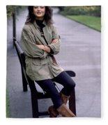 Catherine Zeta Jones Fleece Blanket
