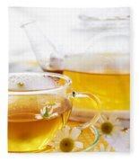Chamomile Tea Fleece Blanket