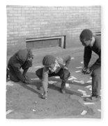 Chicago Marbles, 1941 Fleece Blanket