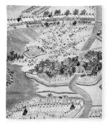 China Taiping Rebellion Fleece Blanket