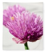 Chives Fleece Blanket