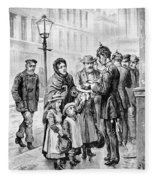 Cholera: Hamburg, 1892 Fleece Blanket