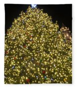 Christmas Tree Ornaments Faneuil Hall Tree Boston Fleece Blanket