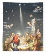 Christmas Card Fleece Blanket