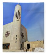 Church Of Saint Columba Fleece Blanket