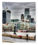 City Of London Fleece Blanket
