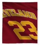 Cleveland Cavaliers Uniform Fleece Blanket