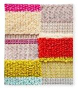 Colorful Textile Fleece Blanket