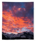 Cordon Granito Expedition, Chilean Fleece Blanket
