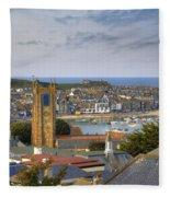 Cornwall - St Ives Fleece Blanket