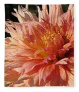 Dahlia Named Intrepid Fleece Blanket