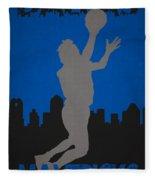 Dallas Mavericks Fleece Blanket
