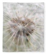 Dandelion Fleece Blanket