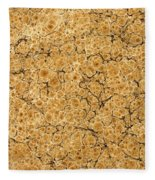 Decorative End Paper Fleece Blanket