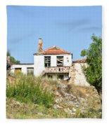 Derelict House Fleece Blanket