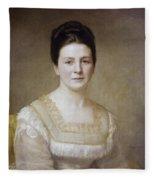 Edith K Fleece Blanket