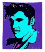 Elvis The King Fleece Blanket