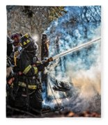 Firefighters Fleece Blanket