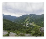 Franconia Notch State Park - White Mountains New Hampshire Usa Fleece Blanket