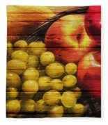 Fruit Fleece Blanket