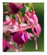 Fuchsia Named Lambada Fleece Blanket