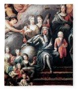 George I (1660-1727) Fleece Blanket