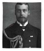 George V (1865-1936) Fleece Blanket