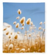 Golden Field Fleece Blanket