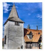 Greensted Church Ongar Fleece Blanket