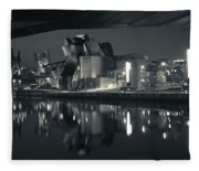 Guggenheim Museum Designed By Frank Fleece Blanket