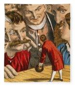 Gullivers Travels Fleece Blanket