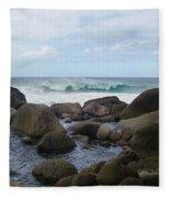 Hanakapi Ai Beach Fleece Blanket