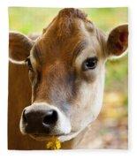 Happy Cow Fleece Blanket