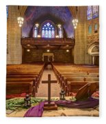Hennepin Avenue Methodist Church Fleece Blanket