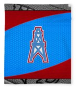 Houston Oilers Fleece Blanket