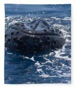Humpback Whales Fleece Blanket