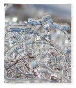 Ice Storm Alfalfa Fleece Blanket