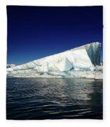Icebergs-jokulsarlon Glacial Lagoon Fleece Blanket