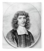 Isaac Barrow (1630-1677) Fleece Blanket
