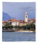 Isola Dei Pescatori Fleece Blanket