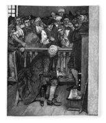 Jonathan Wild (c1682-1725) Fleece Blanket